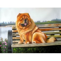 Dog Oil Painting 11 - Art Gallery  Oil Painting Reproductions