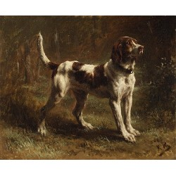 Dog Oil Painting 21 - Art Gallery  Oil Painting Reproductions