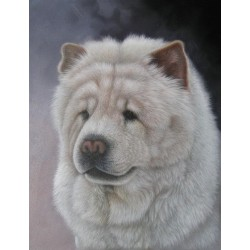 Dog Oil Painting 22 - Art Gallery Oil Painting Reproductions