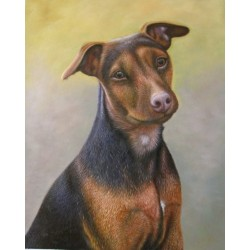 Dog Oil Painting 23 - Art Gallery  Oil Painting Reproductions