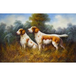 Dog Oil Painting 29 - Art Gallery  Oil Painting Reproductions