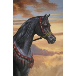 Horses Oil Painting 2 - Art gallery Oil Painting Reproductions