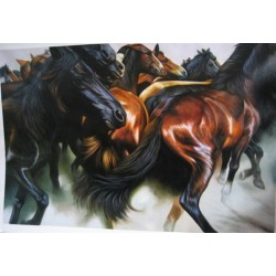 Horses Oil Painting 5 - Art gallery Oil Painting Reproductions