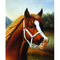 Horses Oil Painting 6 - Art gallery Oil Painting Reproductions