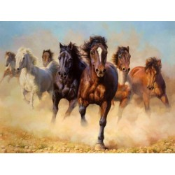 Horses Oil Painting 8 - Art gallery Oil Painting Reproductions
