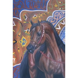 Horses Oil Painting 10 - Art gallery Oil Painting Reproductions