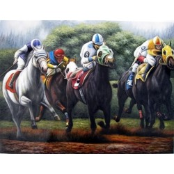 Horses Oil Painting 11 - Art gallery Oil Painting Reproductions