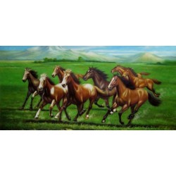 Horses Oil Painting 12 - Art gallery Oil Painting Reproductions