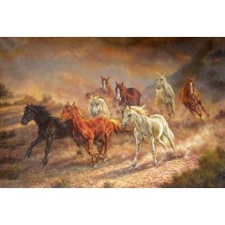 Horses Oil Painting 13 - Art gallery Oil Painting Reproductions