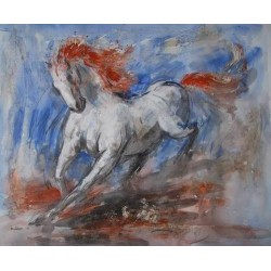 Horses Oil Painting 25 - Art gallery Oil Painting Reproductions
