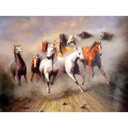 Horses Oil Painting 26 - Art gallery Oil Painting Reproductions