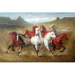 Horses Oil Painting 29 - Art gallery Oil Painting Reproductions