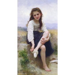 Before the Bath 1900 by William Adolphe Bouguereau - Art gallery oil painting reproductions