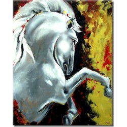 Horses Oil Painting 36 - Art gallery Oil Painting Reproductions