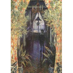 A Corner of the Apartment by Claude Oscar Monet - Art gallery oil painting reproductions