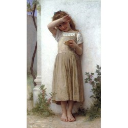 En Penitence by William Adolphe Bouguereau - Art gallery oil painting reproductions