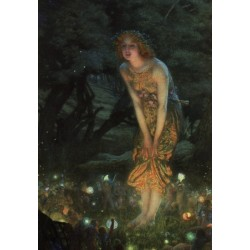 Midsummer Eve 1908 by Edward Robert Hughes - oil painting art gallery