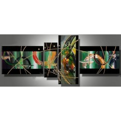 Black Abstract V | Oil Painting Abstract art Gallery