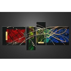 Black Abstract VI | Oil Painting Abstract art Gallery
