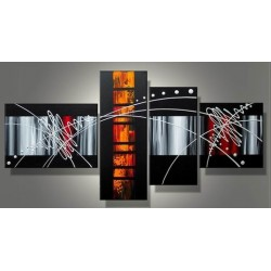 Black Abstract VII | Oil Painting Abstract art Gallery