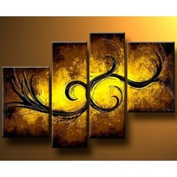 Bronze Abstract | Oil Painting Abstract art Gallery