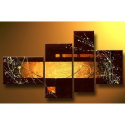Brown Abstract I | Oil Painting Abstract art Gallery