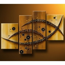 Brown Abstract III | Oil Painting Abstract art Gallery