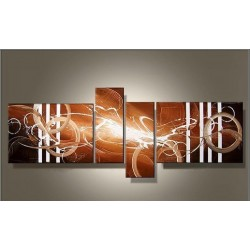 Brown Abstract V | Oil Painting Abstract art Gallery