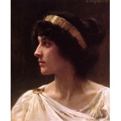 Irene 1897 by - William Adolphe Bouguereau - Art gallery oil painting reproductions