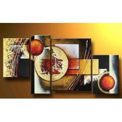 Brown Abstract VII | Oil Painting Abstract art Gallery