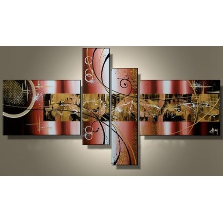 Brown Abstract X | Oil Painting Abstract art Gallery
