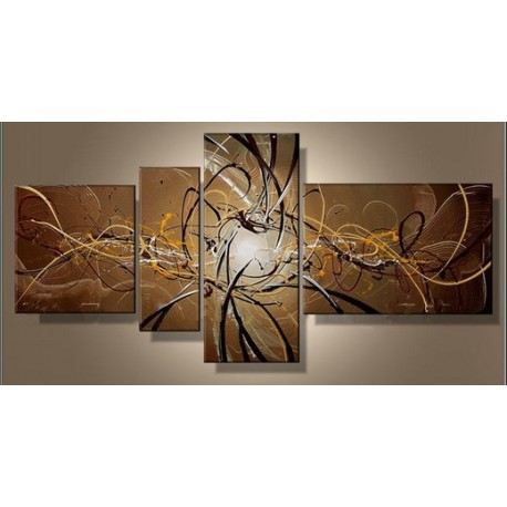 Brown Abstract XI | Oil Painting Abstract art Gallery