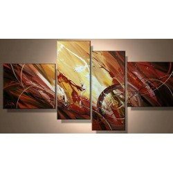 Brown Abstract XII | Oil Painting Abstract art Gallery