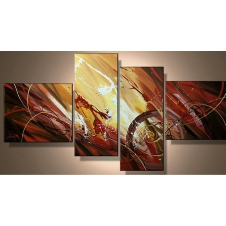 Brown Abstract Xii Oil Painting Art Gallery