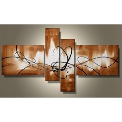 Brown Abstract XIII | Oil Painting Abstract art Gallery