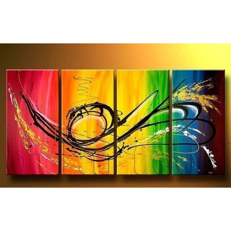 Color Abstract I | Oil Painting Abstract art Gallery