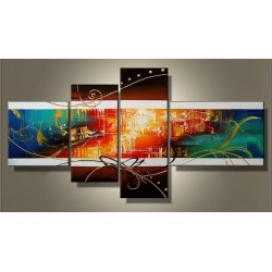 Color Abstract IX | Oil Painting Abstract art Gallery