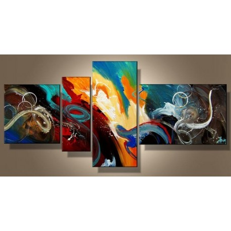 Color Abstract XIV | Oil Painting Abstract art Gallery