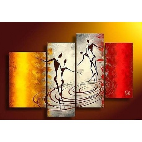 Dancing | Oil Painting Abstract art Gallery