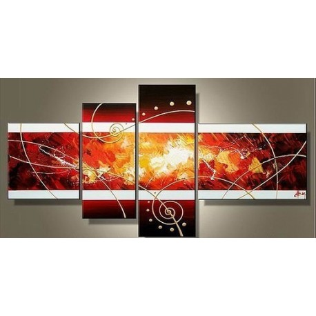 Fire Abstract II | Oil Painting Abstract art Gallery