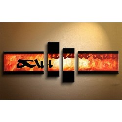 Fire Abstract | Oil Painting Abstract art Gallery