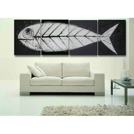 Good Luck Fish | Oil Painting Abstract art Gallery