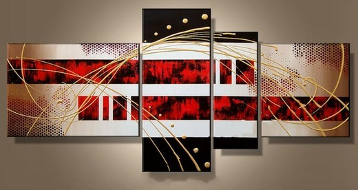 black white red ii oil painting reproductions