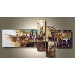 City Abstract III | Oil Painting Abstract art Gallery