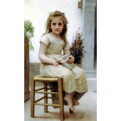 Le Gouter by William Adolphe Bouguereau - Art gallery oil painting reproductions