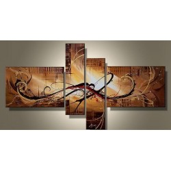 Brown Abstract IX | Oil Painting Abstract art Gallery