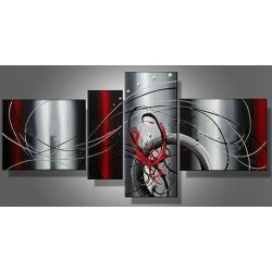 Grey Abstract IV | Oil Painting Abstract art Gallery