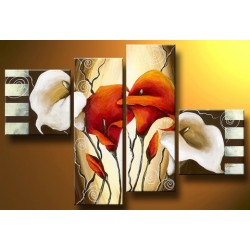 Mixed Flowers | Oil Painting Abstract art Gallery