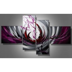 Purple Abstract | Oil Painting Abstract art Gallery