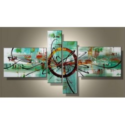 Teal Abstract II | Oil Painting Abstract art Gallery